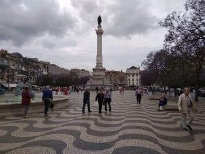 lisbona in tre giorni - piazza rossio