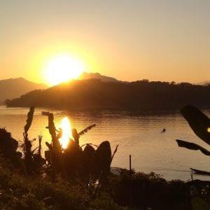 cinque cose da fare a Luang Prabang, tramonto