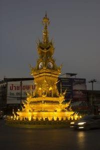 cosa vedere a Chiang Rai in due giorni - torre dell'orologio