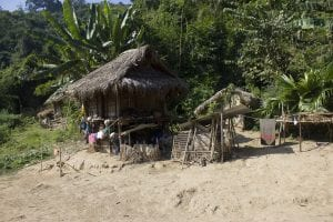 Luang Namtha trekking, il villaggio