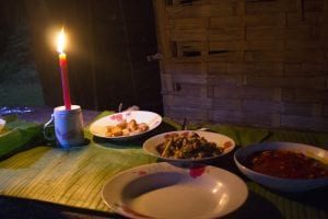 Luang Namtha trekking, la cena