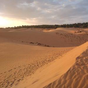 località costiere vietnam del sud - dune rosse