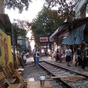 Hanoi vietnam cosa vedere, ferrovia