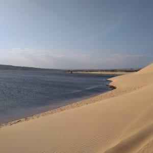 località costiere vietnam del sud - white sands