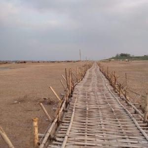 kampong cham - Ponte di Bambù