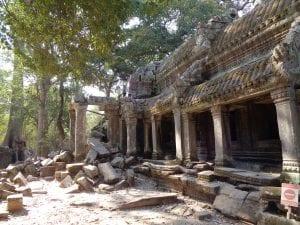 i Templi di Angkor - ta prohm