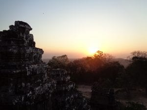 i templi di angkor - Tramonto
