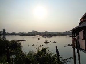 Il fiume Mekong e il tipico paesaggio delle 4000 isole