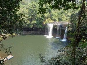 l'altopiano del bolaven e champasak - cascate di Cham pee