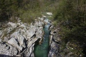 Bovec slovenia escursioni - gola
