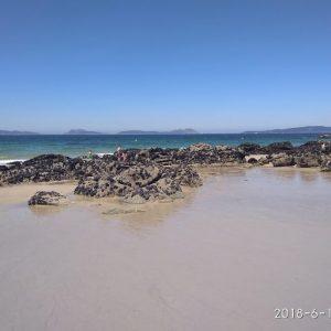 vigo isole cies - spiaggia di samil
